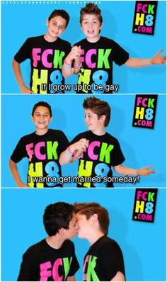 Aww, Young Love - #LGBT