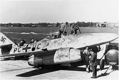 On July 19, 1942, a prototype, Messerschmitt Me 262V3, made its first flight under jet power. (Before this, the aircraft was test flown with a piston engine.) Early versions retained a tailwheel, before the nosewheel was decided to be the better option.