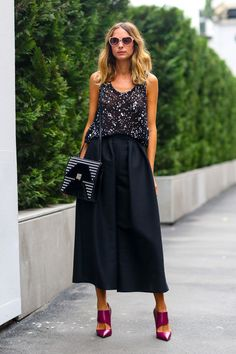 top shop black culottes so excited to wear them
