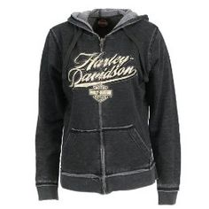 Mens Custom Zippered Hoodie with Unique Skull Eyes Back Graphics Smoking Eyes Overseas Tour Harley-Davidson Military