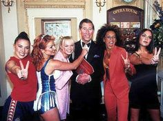 Well... he's not a King from past but...Hey! Those are the Spice Girls after all (Prince Charles of UK)