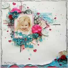 Scrap Around The World: February 2014 Challenge TEN - A Deliciously ♥ LOVELY ♥ Mood Board by Christin Gronnslett! {and as always some AMAZING UPDATES!}