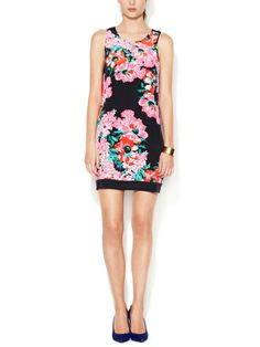 Printed Silk Shift Dress by The Letter on sale now on #Gilt. #fashion #style