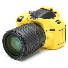 Nikon D5200 - We have a black ánd yellow cover available for your Nikon D5200 camera. Try it for yourself!