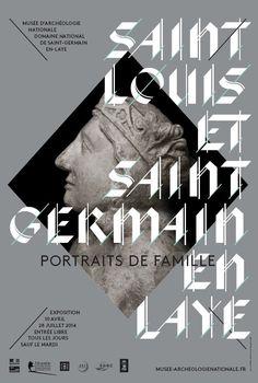 """Exposition """" Saint Louis et Saint-Germain-en-Laye : Portraits de famille"""", du 10 avril au 28 juillet 2014. © MAN"""