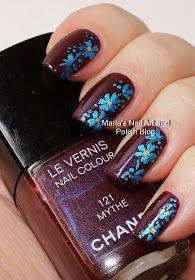 Marias Nail Art and Polish Blog: Mythe floral nail art