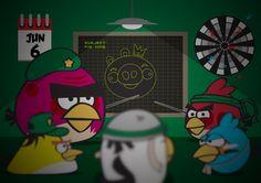 Create an Angry Birds Parody in Illustrator | Abduzeedo Design Inspiration & Tutorials