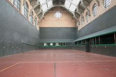 Real Tennis Court in Jesmond dene, Newcastle upon Tyne