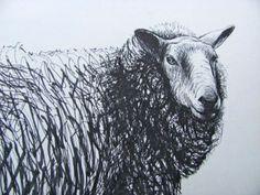 Henry Moore: Sheep sketchbook Animal Sketches, Animal Drawings, Pencil Drawings, Art Drawings, Henry Moore Drawings, Henry Moore Sculptures, Sheep Drawing, Sheep Art, Sculpture Painting