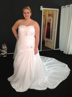 Wedding dresses for plus size women!!