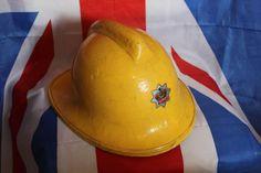 Vintage West Midlands Fire Service / Brigade Helmet Dated 1979 | eBay