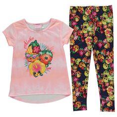 Shopkins t-paita & legginsit setti