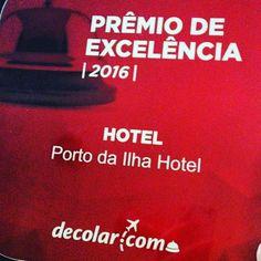 Prêmio de Excelência 2016, na Decolar.com! Vamos comemorar!? www.portodailha.com.br 48 3229 3000 #melhorlocalizacao #florianopolis #premiodeexcelencia #decolar