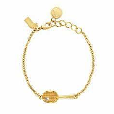 Love this preppy little tennis bracelet!  Kate Sp♠de