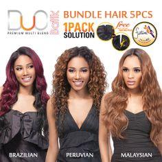 Batik Duo 1pack Solution Bundle Hair 5pcs