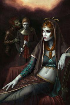 "Ástor Alexander: I think this will be the final""Renaissance Zelda"" piece."