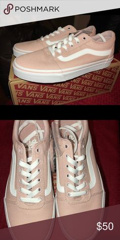 61fdabae4ef7dc Van s women pink rose skater shoes Van s women rose skater shoes Vans Shoes