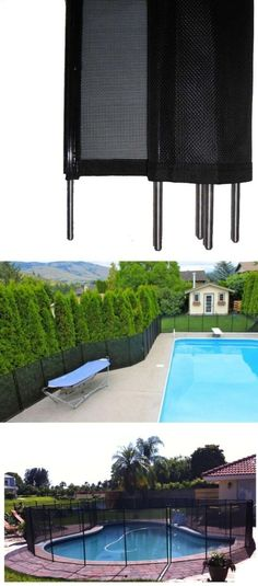 pool fences 167851 above ground pool safety fence kit adjustable 12 ft section diy protect