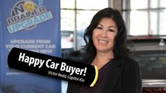 This guest has purchased multiple vehicles from Victor Redd at Capitol Kia and continues to have them serviced at Capitol Kia as well! Hear about her easy tr. Car Buyer, Group Work, Happy