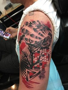 find and keep the latest tattoo trends, from hand poked best friend tattoos, black and white pieces to radiant flower motifs or Japanese tat. Fox Tattoo Design, Aztec Tattoo Designs, Name Tattoo Designs, Woodcut Tattoo, Tattoo Trash, Shamrock Tattoos, Music Tattoo Sleeves, Arm Tats, Tattoo Graphic