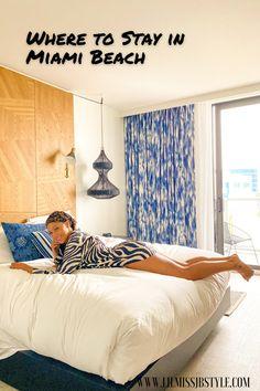 where to stay in Miami Beach as a solo female traveler, luxury hotel in Miami Beach, South Beach Miami hotel, Kimpton Angler's Hotel