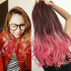 Maria Fujii @fujiimaria 髪の毛又PINKにし...Instagram photo   Websta (Webstagram)