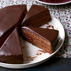 Sacher Torte Recipe. I can't take much more of this!