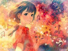 Арты Музыка (2) - Арты - Картинки пользователей - Фотоальбомы - ANIME-SPACES