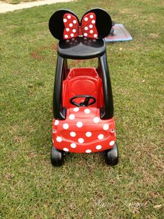 Minnie Mouse Car Tutorial | Megan Kunkel