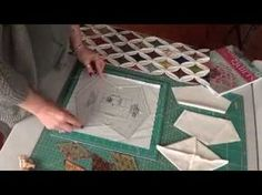 Erica Plank's Cathedral Window Template - YouTube