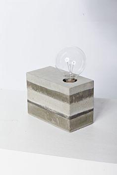 Concrete Light D.I.Y / Lianen Lampe aus CUT Magazin 9