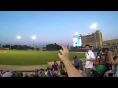 Baseball game spectator snags a line drive foul ball with his bare hand. | Real Funny