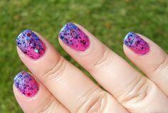 Lynnderella's Boy-Girl Party over 2 Enchanted Polish colors
