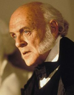 "Anthony Hopkins in ""Amistad"" (1997). DIRECTOR: Steven Spielberg."