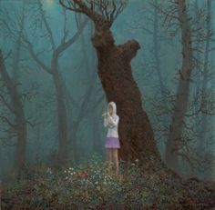 Selection of work by San Diego-based artist Aron Wiesenfeld (previously featured here). More images below.        Aron Wiesenfeld's Website Aron Wiesenfeld on Facebook Aron Wiesenfeld on Instagram