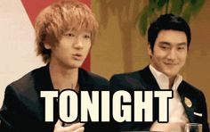 Yesung and Siwon