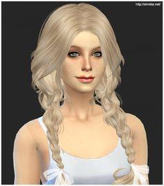 Simista: ELA 23F Newsea Hair • Sims 4 Downloads