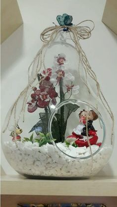 Bearded Dragon, Snow Globes, Home Accessories, Orchids, Mason Jars, Old Things, Presents, Indoor, Crystals