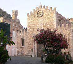 Duomo in Taormina (Sicily)