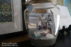 Vacation Memory Jar - great idea!