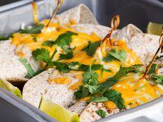 Kylling Burritos med lyn guaccomole