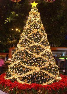 Resultado de imagen para arboles de navidad decorados navidad