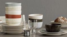 """Sarjaton"" tableware by iittala Ceramics, Mix Match, Tableware, Inspiration, Decor, Tablewares, Food And Drinks, Dekoration, Ceramica"