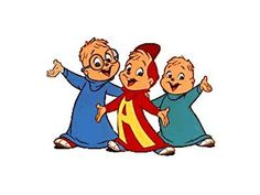 Alvin and the chipmunks - I watched them on tv alot.