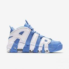 buy online 19079 4a77c Herren Schuhe Nike Air More Uptempo  96 Blau Schuhe DE112792 Tritt heraus  Blau Und Weiß