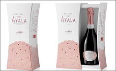 Feminine design for limited edition Ayala rosé