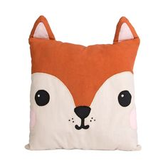 Buy the Hiro Fox Kawaii Friends Cushion @ Flamingo Gifts. Shop the full Sass & Belle cushion collection with free delivery over Kawaii, Little Girl Crafts, Funky Cushions, Contemporary Cushions, Fox Home, Flamingo Gifts, Sass & Belle, Craft Party, Soft Furnishings