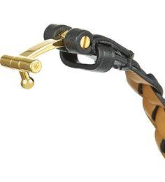 4d7e35e09d6 TOM FORD - Plaited leather bracelet