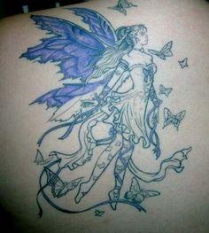 90 tatuagens de fadas