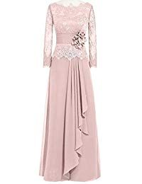 Long Sleeve Lace Mother of the Bride Dresses I love this dress. And You?